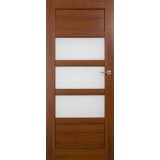 Interiérové dveře BRAGA kombinované bezfalcové, model B