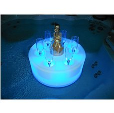Osvětlený držák nápojů
