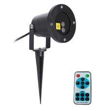 LED laser vánoční projektor IQ-L 20 DOUBLE STAR, Doprava zdarma