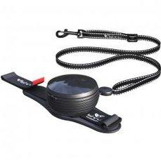 Lishinu vodítko 3v1 (pro psy do 30kg), černé
