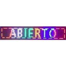 LED reklamní a textový displej IQ-LP RGB (barevné pásy)