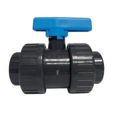 Ventil kulový dvojcestný lep/lep 50 mm - PT PLIMEX