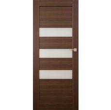 Interiérové dveře SANTIAGO kombinované bezfalcové , model 6