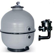 Vágner Pool Filtrační zařízení - KIT MIDI 600, 16 m3/h, 230 V, 6-ti cest. boč. ventil, čerp. Preva