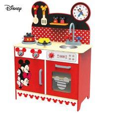 Derrson Disney Dřevěná kuchyňka XL Mickey a Minnie TY036