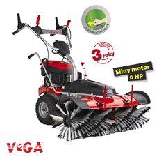 Zametací kartáč VeGA S1000V-E s variabilním pojezdem s elektrickým startem