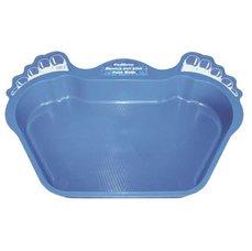 Vanička na nohy plastová - modrá
