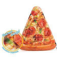 58752 Nafukovací lehátko pizza 175 x 145 cm