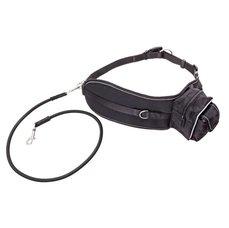 Karlie-Flamingo sportovní pás, černý, 65-120cm