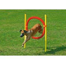 Karlie-Flamingo agilní překážka - kruh, žlutá/červená