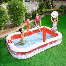 54125 Dětský bazén volejbal 253 x 168 x 97 cm