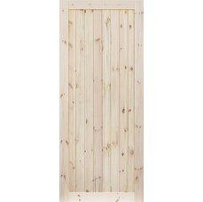 Borovicové dveře DESIGN LINE, model 1