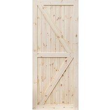 Borovicové dveře DESIGN LINE, model 2
