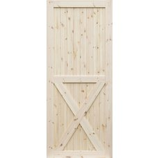 Borovicové dveře DESIGN LINE, model X