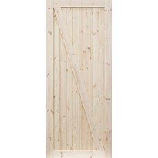 Borovicové dveře DESIGN LINE, model Z