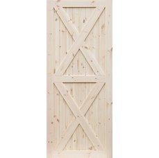 Borovicové dveře DESIGN LINE, model XX