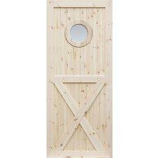 Borovicové dveře DESIGN LINE, model OX