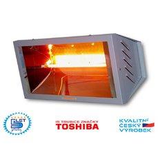 Elektrický infrazářič SUNLINE® PROFESIONAL SP1500, stříbrný