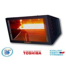 Elektrický infračervený zářič SUNLINE SP1500 (GRAFITOVĚ ŠEDÝ)