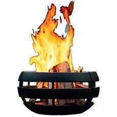 Fire Ball - litinová krbová kamna