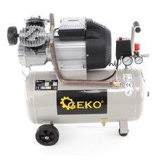 Kompresor olejový dvoupístový, 50l GEKO - GEKO G80305
