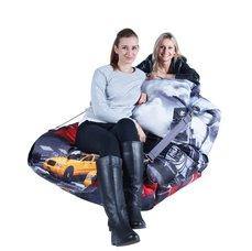 BeanBag Designový sedací vak 189x140 city
