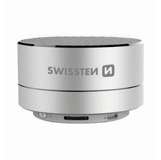 Swissten i-Metal bluetooth reproduktor stříbrný