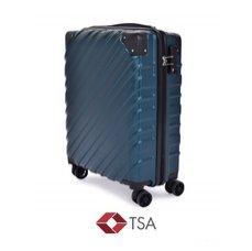 TSA kufr menší, PETROLEJ, 39 x 20 x 55 cm
