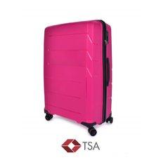 Dedra TSA kufr velký, FUCHSIA, 50 x 28 x 78 cm