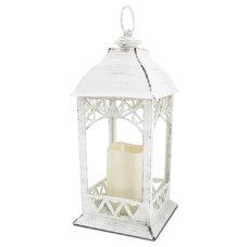 Homelife LED lucerna dekorační, bílá ZK6119