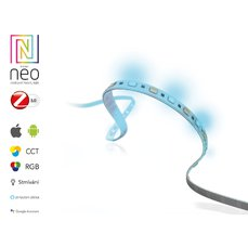 Immax 07008L NEO Smart pásek LED 2m, RGB, CCT barevný, stmívatelný, Zigbee 3.0