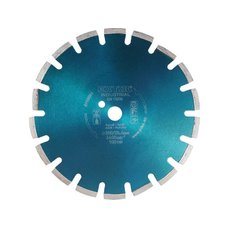 Kotouč diamantový řezný segmentový na ASFALT, 400x25,4mm, suché i mokré řezání, EXTOL INDU EXTOL INDUSTRIAL