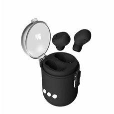 Bluetooth sluchátka s reproduktorem černé