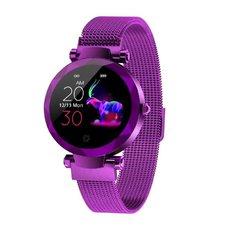 IMMAX SW12 Chytré hodinky fialové 09019 kompletně v CZ