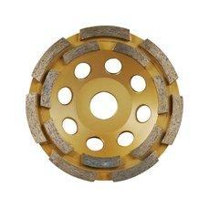 Kotouč diamantový brusný dvouřadý, 150x22,2mm, EXTOL PREMIUM
