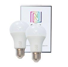 Immax LED žárovka Neo E27 8,5W teplá bílá 2ks teplá bílá, stmívatelná, 806lm