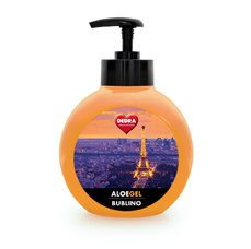 DEDRA BUBLINO ALOEGEL de paris, tekuté mýdlo na tělo i ruce, s pumpičkou, 500 ml