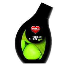 Dedra TOILET SUPERGEL intenzivní čistič na toalety, bidety a pisoáry, 500 ml, green apple