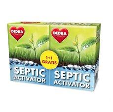 Dedra SEPTIC ACTIVATOR aktivátor septiků 1+1 GRATIS, 2 x 12 tabs.