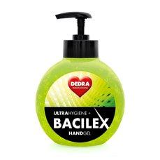Dedra Čisticí gel na ruce, 65 % alkoholu, 500 ml, handGEL BACILEX ultraHYGIENE+, s pumpičkou