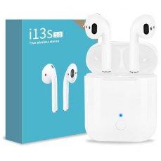 TWS i13S AirPods Bezdrátová sluchátka s dokovací stanicí Bluetooth 5.0.
