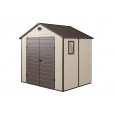 G21 PAH 458 241 x 190 cm béžový zahradní domek