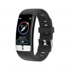 Smart watch Immax TEMP FIT black s teploměrem - app v CZ