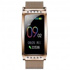 Smart watch Immax Crystal Fit gold dámské