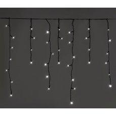 Dedra LED světelný déšť, 200 LED diod, 8 programů, studené bílé světlo, 7 m