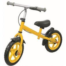 Kids World 125C žluté dětské odstrkovadlo