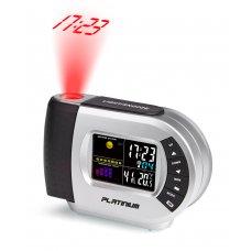Platinium Budík s meteostanicí a projekcí RS5012LBTC