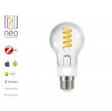 Immax NEO Smart filamentová žárovka LED E27 5W teplá, studená bílá, stmívatelná, Zigbee3.0