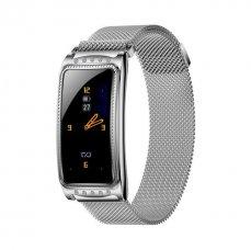 Smart watch Immax Crystal Fit silver dámské