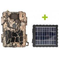 Fotopast OXE Spider 4G a solární panel + 32GB SD karta, stativ